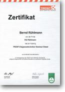 Trost Autoservice Technik SE • Sachkundebescheinigung für KFZ-Klimaanlagen nach ChemKlimaschutzV in Verbindung mit der Verordnung (EG) Nr. 307/2008
