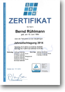 SBW • Teilnahme an der KFZ-Jahresfachtagung 2014
