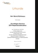 Audatex • Weiterbildung Grundlagen-Seminar EDV-Reparaturkalkulation